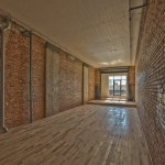 Loft 228. These refined, industrial spaces feature long stretches of exposed brick.