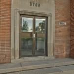 The entrance at 3700 Saint Patrick.